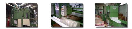 Machines textiles fabrication coussins, oreillers et couettes duvet
