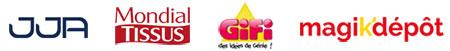 Fabricant revendeur pour JJA - Mondial Tissus -Gifi - Magik Dépôt